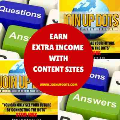 Earn Extra Income With Content Sites