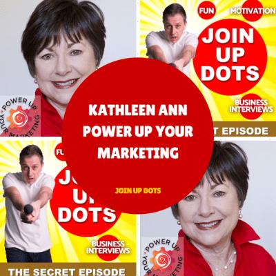 Kathleen Ann: Power Up Your Marketing Like A Legend - Sleep